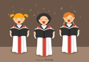Free Girls Choir Vector