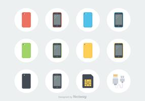 Free Smartphone Vector Icons
