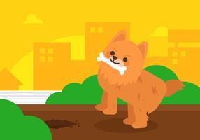 Vector Pomeranian