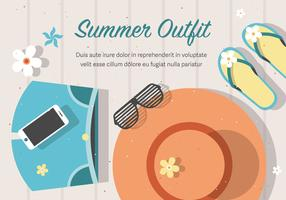 Free Vector Summer Outfit Background