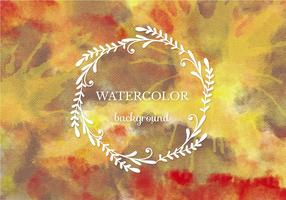 Free Vector Warm Watercolor Background