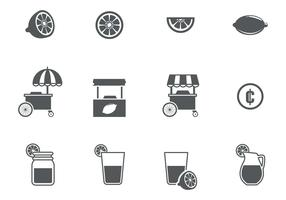 Free Lemonade Icons Vector