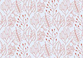Outline Plants Pattern