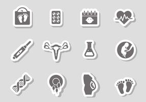 Free Pregnancy Icons Vector