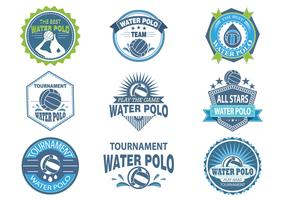 Water Polo  Labels and Stickers