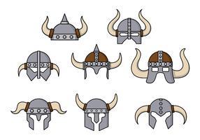 Barbarian Helmet Vector