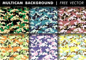 Multicam Background Free Vector