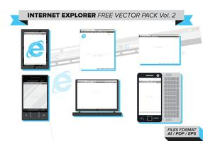 Internet Explorer Free Vector Pack Vol. 2
