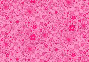 Rosa que repite el modelo de flor