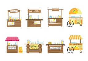 Free Lemonade Stand Vector