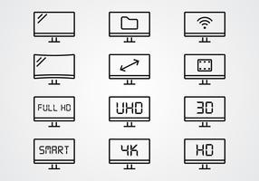 LED Line Icon