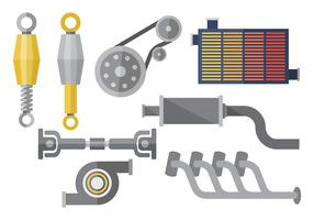 Free Gearbox Icons Vector