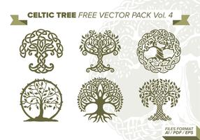 Celtic Tree Free Vector Pack Vol. 4
