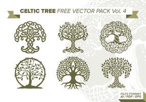 Celtic Tree Free Vector Pack Vol. 4