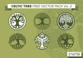Celtic Tree Free Vector Pack Vol. 2