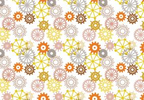 Free Clock Parts Pattern Vectors