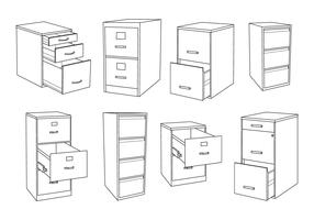Free File Cabinet Vector