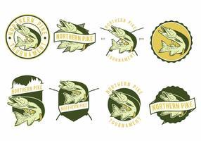 Pike Fish Badges