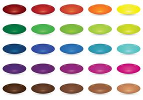 Set Of Smarties Vector