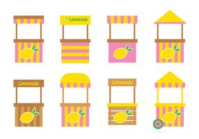 Lemonade Stand Design Vector