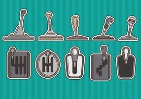 Gearbox Vector Icons