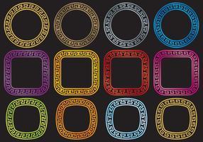 Circular Greek Keys