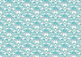 Free Vector Soft Blue Western Flourish Pattern