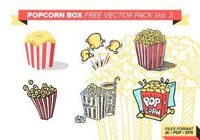 Popcorn Box Free Vector Pack Vol. 3