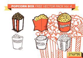 Popcorn Box Free Vector Pack Vol. 4