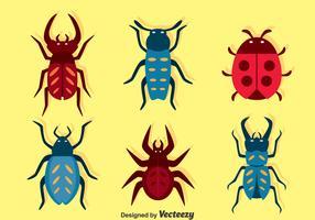 Bugs Set Vector