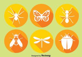 Insect Circle Icons