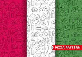 Pizza Pattern Vector