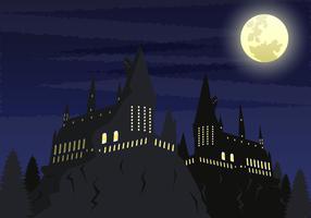 Hogwarts School Vector Ilustration