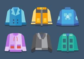 Free Winter Coat Vector 2
