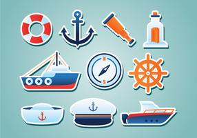 Free Nautical Stickers