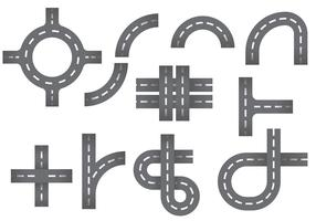 Free Roundabout Icons Vector