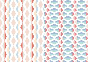 Abstract Geometric Pastel Pattern