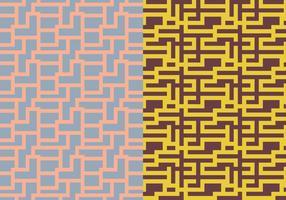 Maze Geometric Pattern