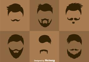 Man Hair Styles Vector