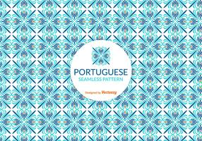 Vector Portuguese Tile Pattern
