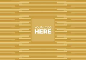 Free Vector Gold Logo Background