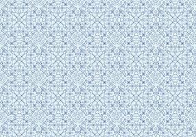 Geometric Floral Motif Pattern