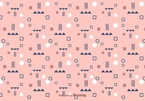 Flat Geometric Pattern