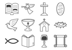 Free Christian Religion Icon Vector