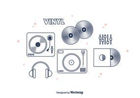 Vinyl Vector Icons