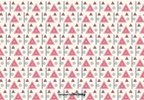 Geometric Triangular Pattern