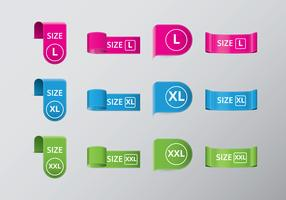 Free Plus Size Tag Vectors