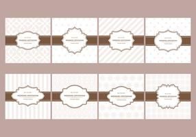 Free Elegant Wedding Cards Pattern Designs