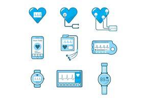 Free Heart Monitor Vector