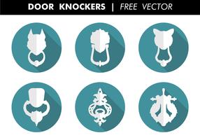 Door Knockers Free Vector